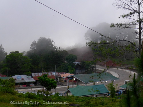 Fog coming in. DDD Habitat Inc. in Lorega, Kitaotao, Bukidnon