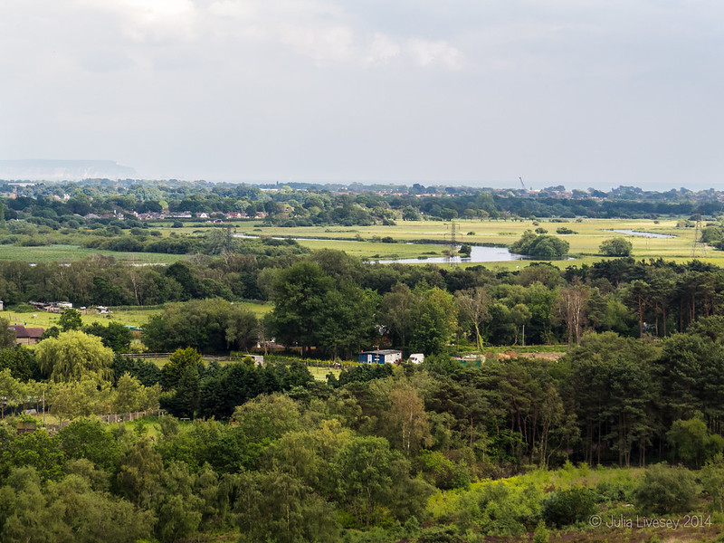 River Avon from St Catherine's Hill