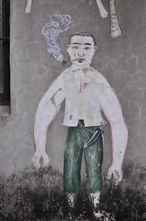 20140419-李明則在碾米場牆壁的畫作2-1