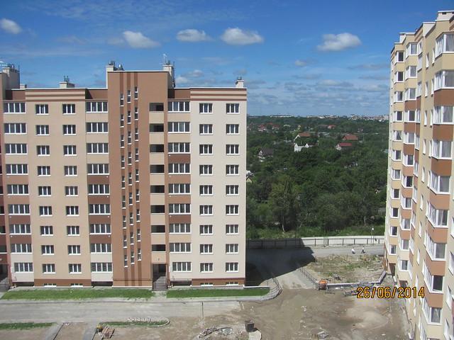 Вид из окна в доме №6 на Аксакова