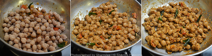 How to make soya chunks fry - Step4