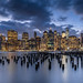 New York City Skyline by hjuengst
