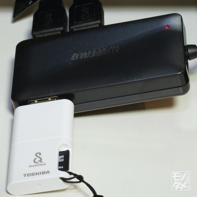 SeeQVault SDカード (USB接続)
