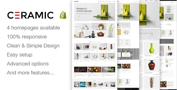 JMS Ceramics v1.1 - Responsive Shopify Theme
