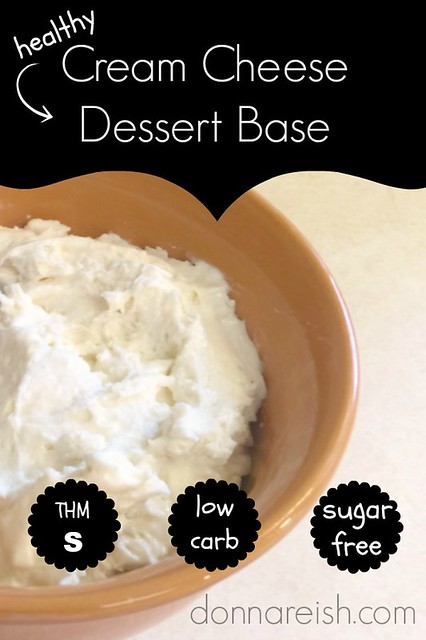 Healthy Cream Cheese Dessert Base