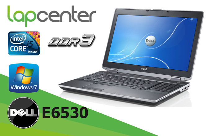 DELL LATITUDE E6530 I5-3320M 4GB RAM 320 GB HDD WIN7PRO