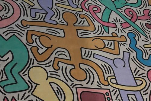 Affresco di Keith Haring