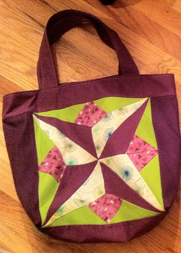 Star Block bag