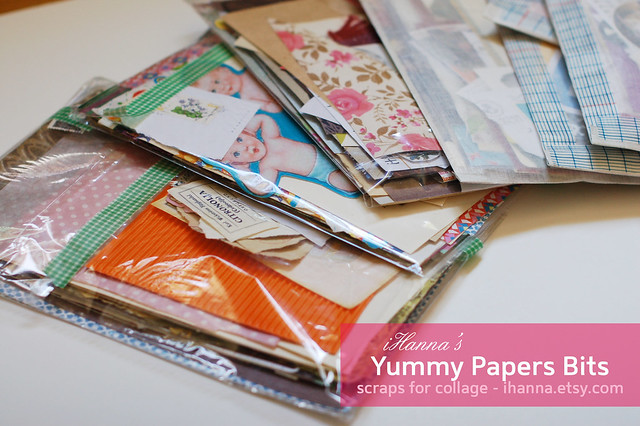 Yummy Bits of Paper Scraps