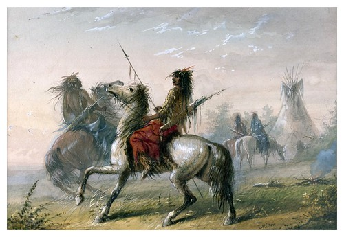 015-Indios Serpiente-Alfred Jacob Miller-1858-1860-Walters Art Museum