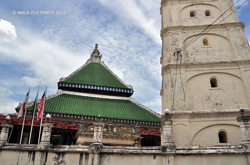 Kampung Kling Mosque, Harmony Street, Malacca Old Town, Malaysia