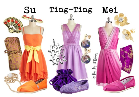 Su, Ting-Ting, & Mei (Mulan 2)