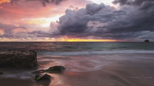 sunset red clouds point long exposure australia perth western peron rockingham 1635mm