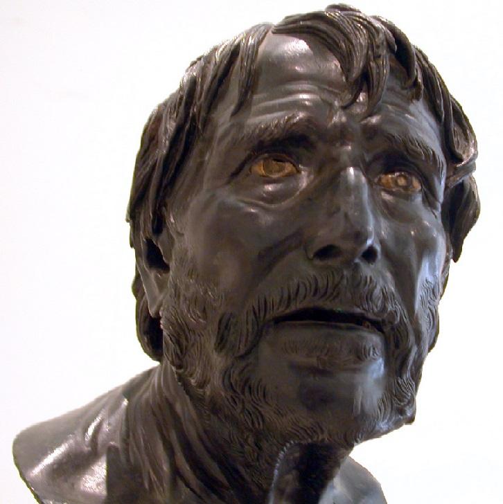 Busto de Séneca, en el Museo Arqueológico Nacional de Nápoles. Autor, Finizio