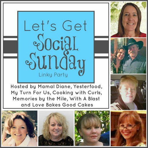 Let's Get Social Sunday #41 ~ Biggest & BEST Social Media Link up !   #facebook #twitter #pinterest #blog #instagram #bloglovin #googleplus #sundaysocial #socialsunday via:withablast.blogspot.com