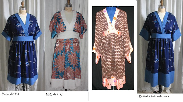 Kimono's side by side