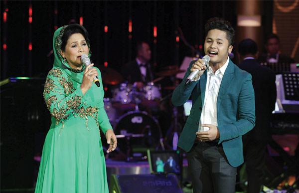 Konsert Emas Eksklusif Orkestra RTM - Datuk Yusni Hamid ... menggandingkan Yusni dengan Hafiz