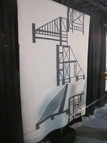 """Building Bridges"" by Jacquie Gering and Sheryl Schleicher of Chicago, IL"