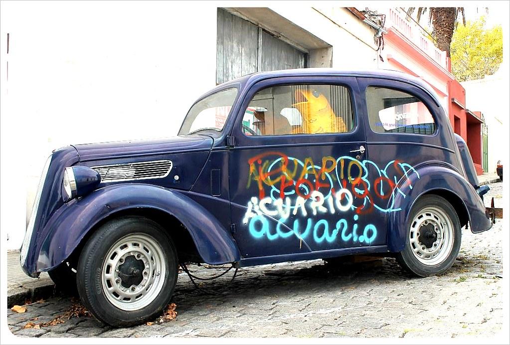 vintage car uruguay