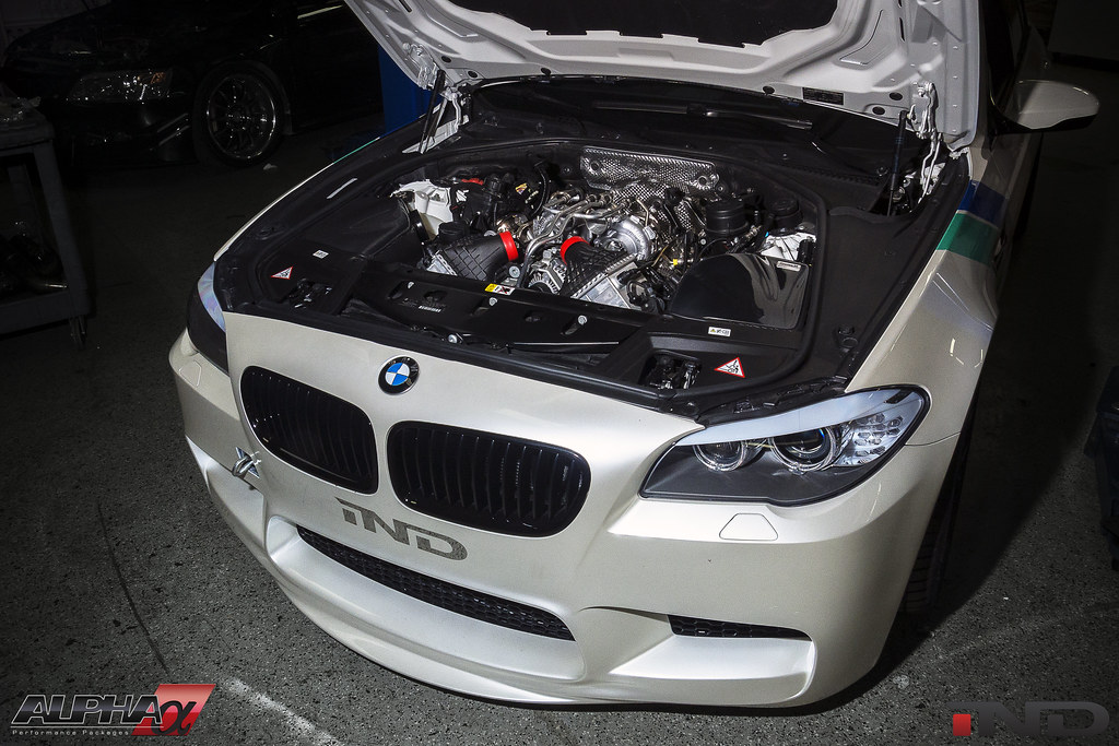 Official info on AMS new M5 ECU flash tune, from IND!