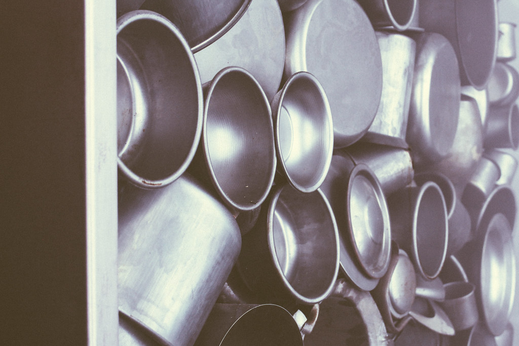 Pots at Oskar Schindler's Factory