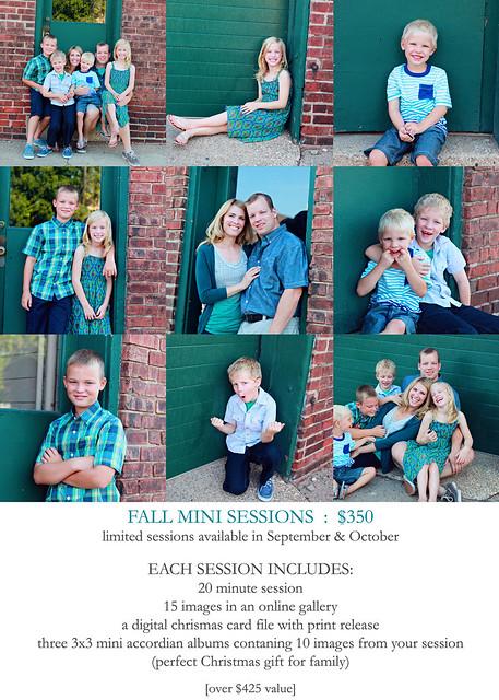 Fall Mini Sessions 2013