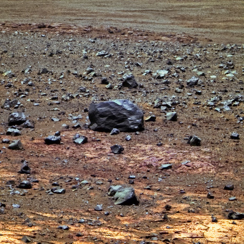 Opportunity sol 3391 PanCam - Quandong Mulla Mulla