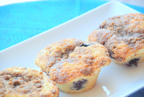 Back-to-school Blues-Berry Muffins