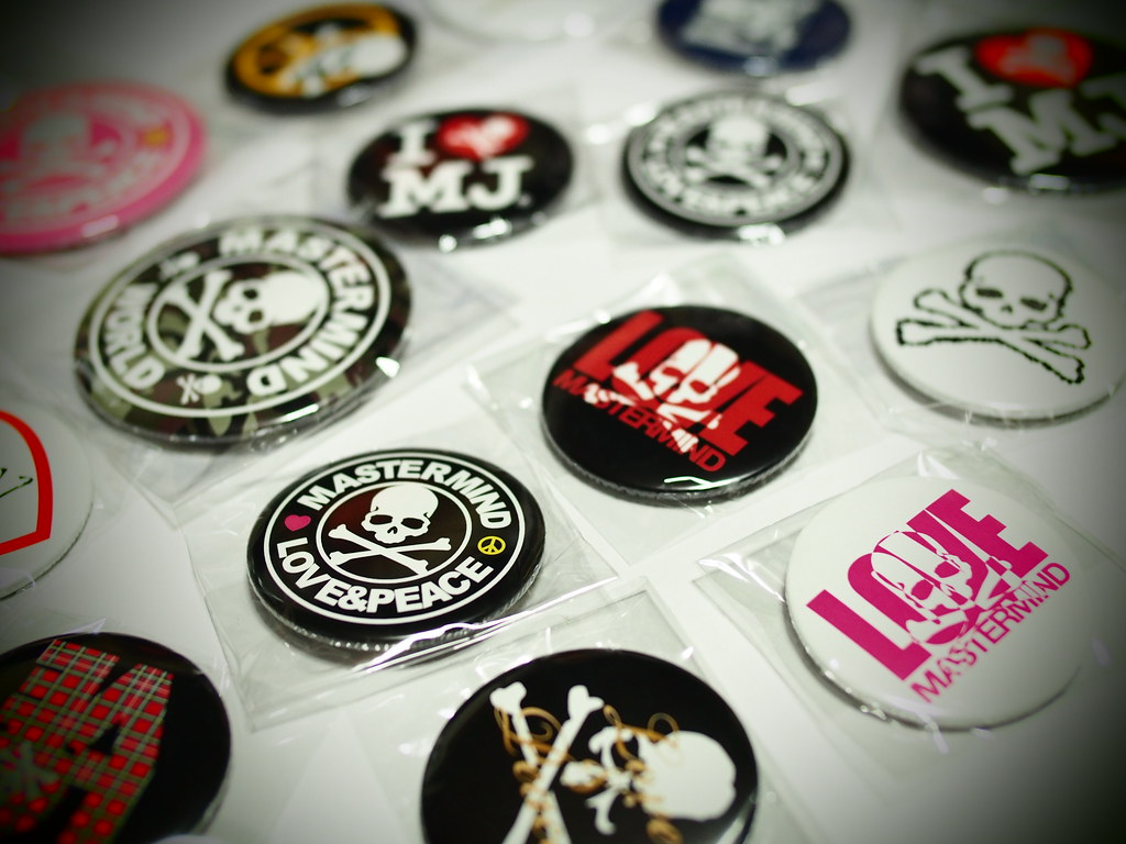mastermind JAPAN | Badge Set