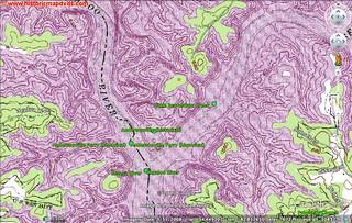 Andersonville Topo Google Earth
