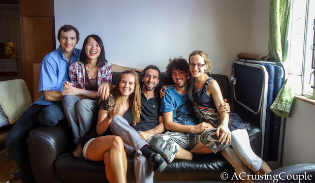 Couchsurfing in Hong Kong