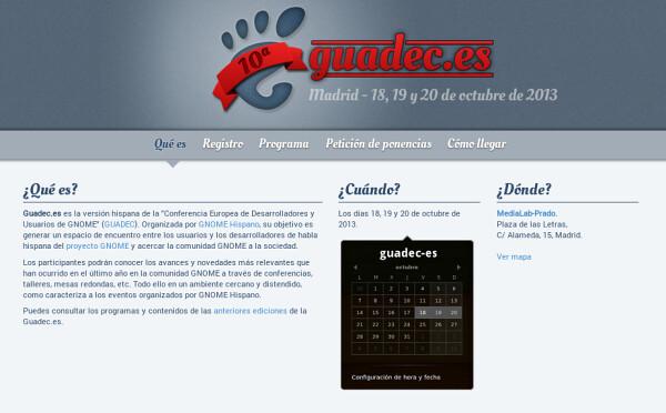 Guadec-es X