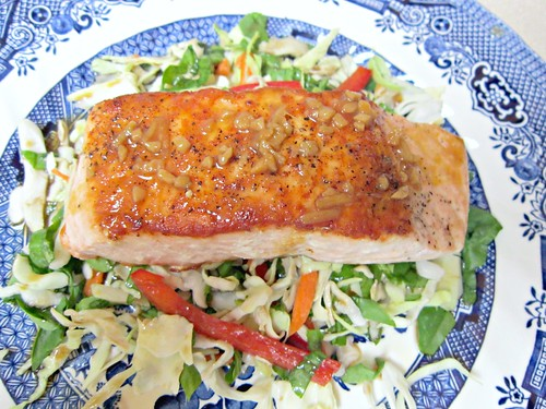 Salmon with Citrus-Soy Glaze 2