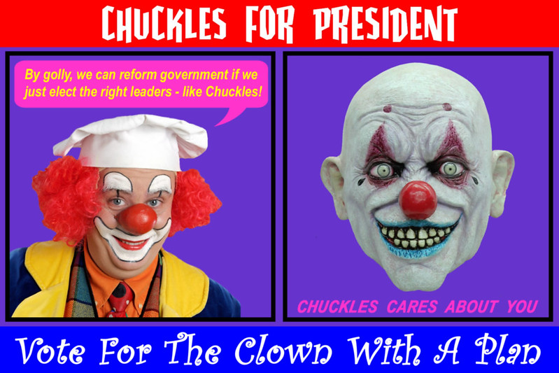Clowns That Don't Vote Have No Right To Twisted Balloons