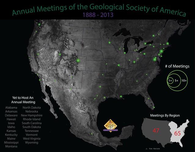 GSA Meetings (1888-12013)
