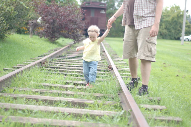 walking the rails