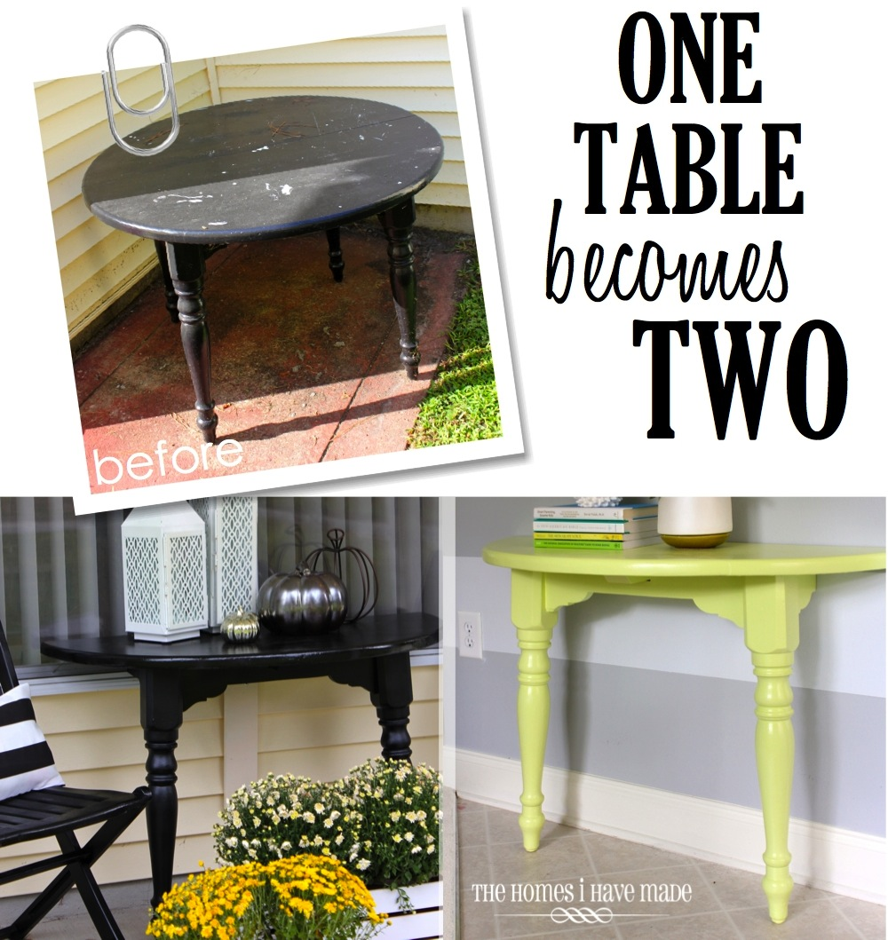 Lemon Lime Console Table-014