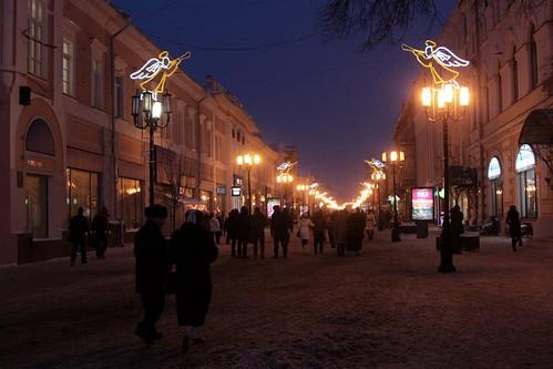 Main street of Nizhny Novgorod - Bolshaya Pokrovskaya ulitsa