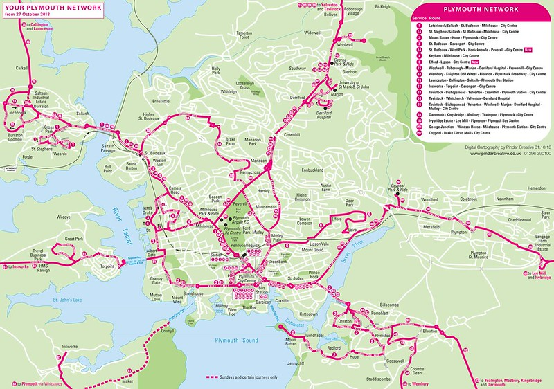 First Plymouth new map October 2013
