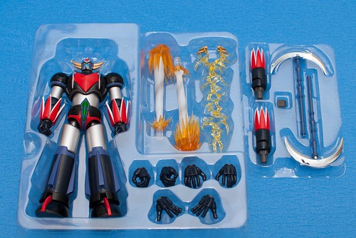 Grendizer Box contents