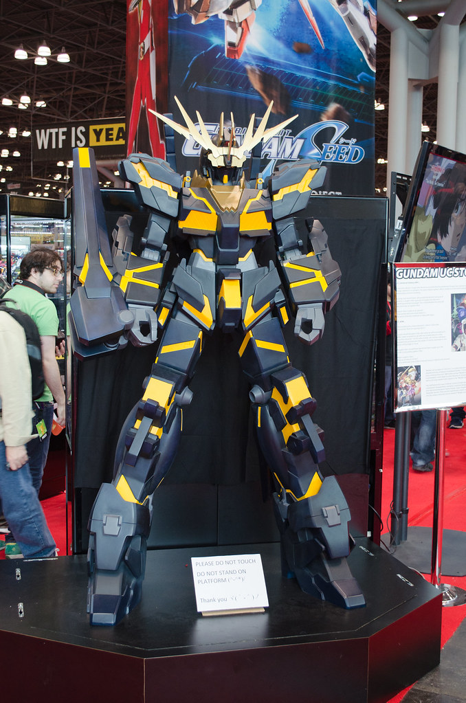 NYCC Gundam Booth