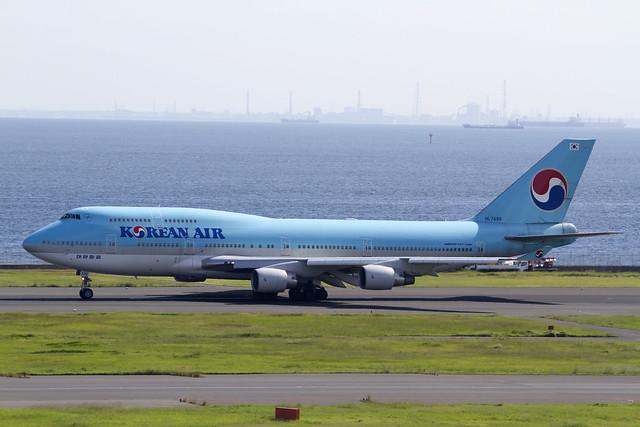 KAL B747-400
