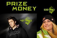 Prize money ve Světovém poháru