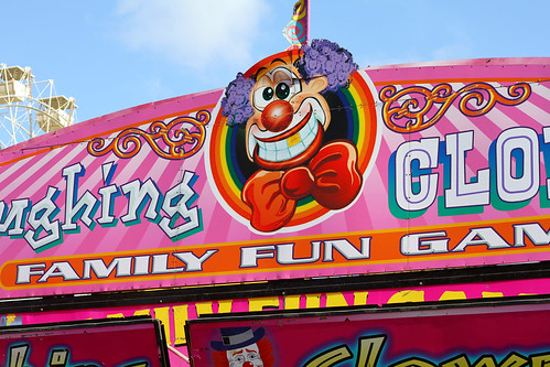 Perth Royal Show 2013 - Laughing Clown Sign