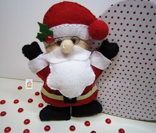 ♥♥♥ Ho, Ho, Ho... by sweetfelt \ ideias em feltro