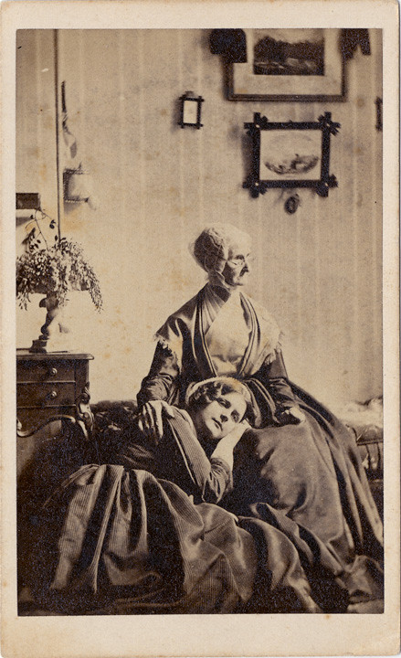 Two Women In A Parlour