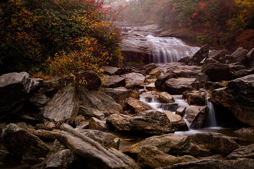 Lower Falls at Graveyard Fields