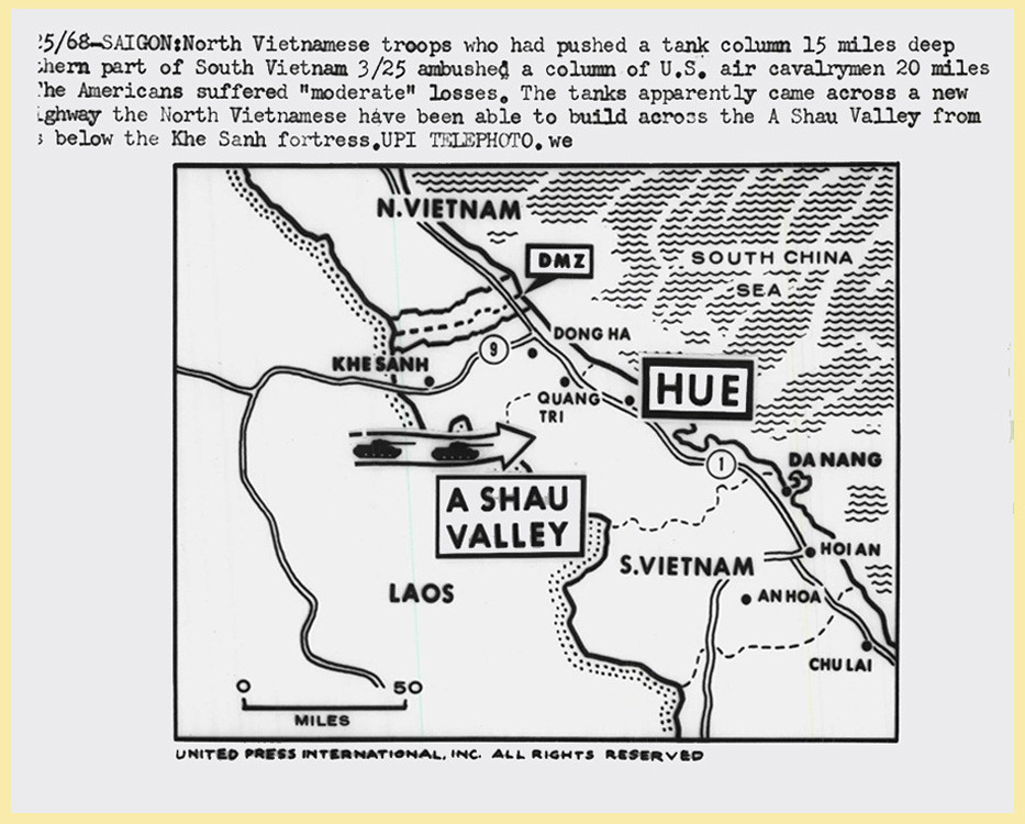 1968 Vietnam War Map Press Photo Manhhai Flickr
