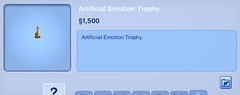 Artificial Emotion Trophy