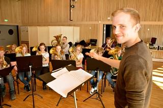 Lilla Brassbandfestivalen 2013 - Per Engström  dirigerar